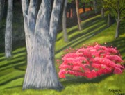 Rebecca Jackson - Azaleas in the woods