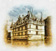Mo Posters - Azay le Rideau Poster by Mo T