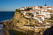 Western Architecture Prints - Azenhas do Mar Print by Carlos Caetano