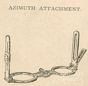 Navigate Framed Prints - Azimuth Attachment, Navigational Tool Framed Print by Photo Researchers