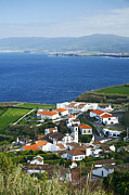 Village By The Sea Photo Posters - Azores Poster by Gaspar Avila