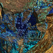 Cottonwood Digital Art - Azurite by Nadine and Bob Johnston