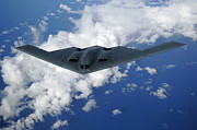 Stealth Prints - B-2 Spirit Print by Stocktrek Images