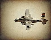 B-25j    Miss Mitchell Print by Al  Mueller