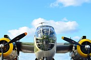 2011 Vna Stuart Airshow Wibada Photo Art - B-25J Killer B by Lynda Dawson-Youngclaus