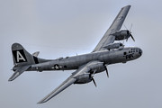 Airshows Photos - B-29 Superfortress FIFI by Bill Lindsay