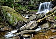 Reynolds Photo Metal Prints - B Reynolds Falls Metal Print by Robert Harmon