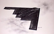 Stealth Prints - B2 Batwing Print by Mark Jennings