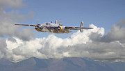 B25 - Corsica Print by Pat Speirs