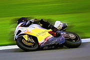Motogp Prints - B8 Print by Tom Griffithe