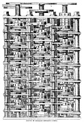 Mathematician Prints - Babbage Calculator, 1864 Print by Granger