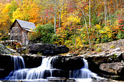 Grist Mill Art - Babcock State Park by Thomas R Fletcher
