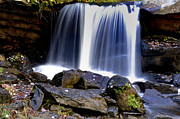 Fayette County Framed Prints - Babcock State Park Waterfall Framed Print by Thomas R Fletcher