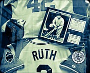 Babe Ruth Photos - Babe by Ronda Broatch