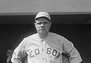 Babe Ruth Photos - Babe Ruth 1919 by Padre Art