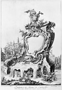 1750s Photos - Babel: Fountain by Granger