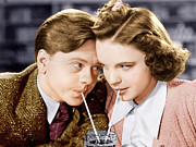 Incol Framed Prints - Babes In Arms, From Left Mickey Rooney Framed Print by Everett