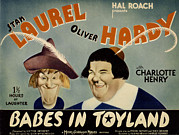 Babes In Toyland,from Left, Stan Print by Everett