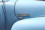 Chevrolet 3100 Prints - Baby Blue 1951 Chevrolet 3100 Truck . 5D16565 Print by Wingsdomain Art and Photography