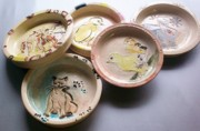 Baby Ceramics - Baby Bowls by Susan Bornstein
