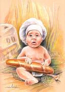 Miki De Goodaboom - Baby Cook with Baguette