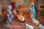 Manger Posters - Baby Jesus Poster by David Arment