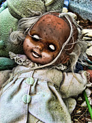 Doll Photo Originals - Baby Plague  by Sid Graves