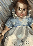 Doll Metal Prints - Baby Metal Print by Tommervik