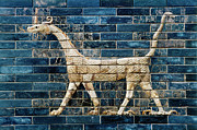 Ishtar Photos - Babylon Ishtar Gate 600 B.c by Granger