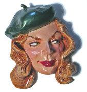 Beautiful Sculptures - Bacall by Karen Fulk