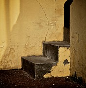 Stone Steps Art - Back Door by Odd Jeppesen