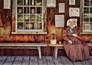 Window Bench Photos - Back in the Days by Evelina Kremsdorf