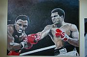Ali Painting Originals - Back In The Homeland by Joey Castleman