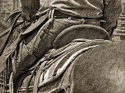 Western Art Photos - Back In The Saddle by Megan Chambers
