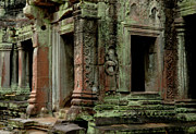 Cambodia Photos - Back In Time by Bob Christopher