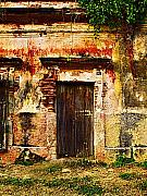 Old Wall Photo Posters - Back Lot by Darian Day Poster by Olden Mexico