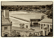 Philadelphia Photo Prints - Back of Water Works Print by Jack Paolini