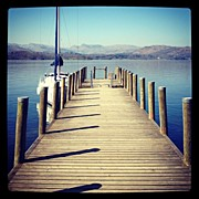 Manc Prints - Back On Windermere #thelakes #windermere Print by Conor Duffy