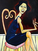 Modigliani Originals - Back Stage by Craig Martin