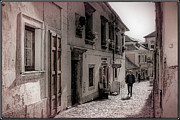 Alleyway Posters - Back Street Boy Poster by Joan Carroll
