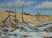 Wyoming Paintings - Back to Open Range by Debra Mickelson