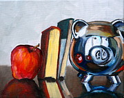 Reflective Surfaces Art - Back to School by Amy Higgins