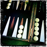 Backgammon Anyone Print by Nina Prommer