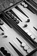 Board Game Metal Prints - Backgammon Metal Print by Joana Kruse