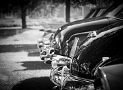 Oldtimer Metal Prints - Backside Metal Print by Ralf Kaiser