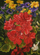 Helen Shideler - backyard Blooms