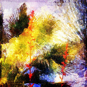 Reverie Digital Art - Backyard Reverie by Lynn Thomson