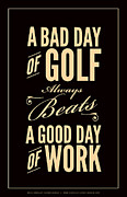 Sports Digital Art - Bad Day of Golf by Mark Brown