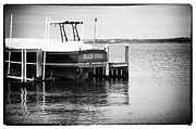 Docked Boat Framed Prints - Bad Dog Framed Print by John Rizzuto