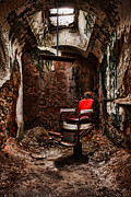 Dilapidated Metal Prints - Bad Hair Day Metal Print by Andrew Paranavitana